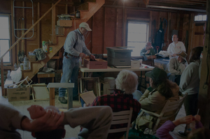 continuing education for beekeepers at our spring workshop